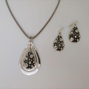 Jewelry - Necklace & Earrings Jewelry Set - NWOT